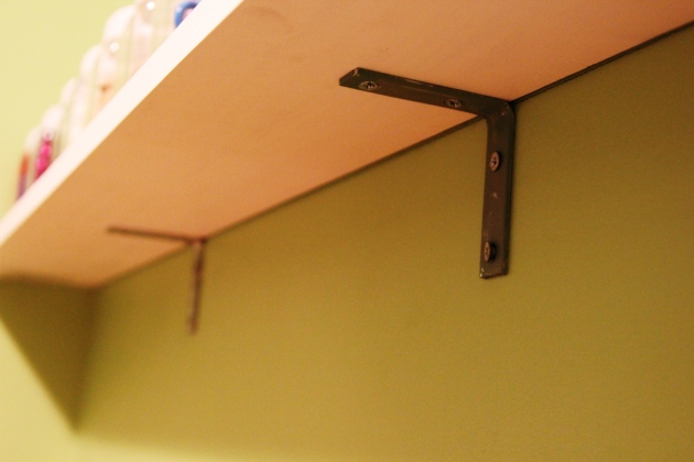 wood shelf bracket